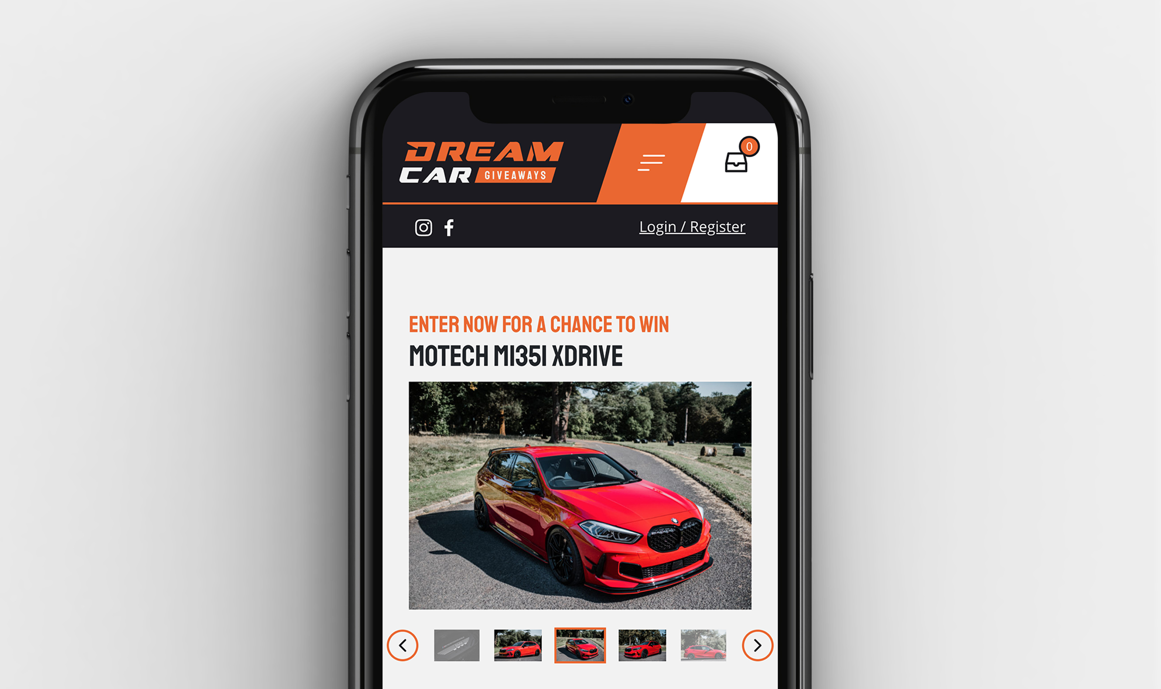At peak times, our website for Dream Car Giveaways takes three orders per second.